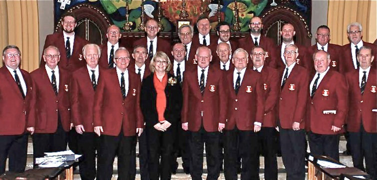 Kirsten and pontypool male voice choir